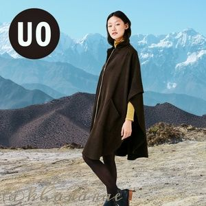 URBAN OUTFITTERS Zip-up Maxi Cape